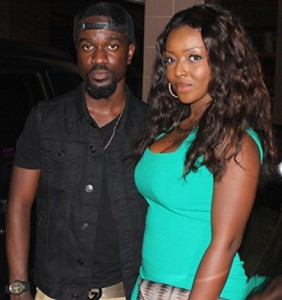 Yvonne Okoro Spotted With Sarkodie