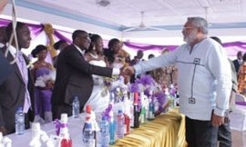 PHOTO: Rawlings Storms Wedding Uninvited