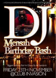 DJ Mensa Makes Birthday History On November 23