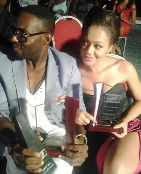 Nadia Buari Receives Honorary Award In Uganda