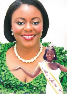 Miss Ghana Goes To Parliament