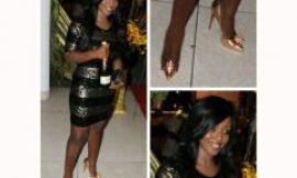 Yvonne Okoro Goes Sexy For Moet & Chandon Golden Festival