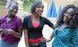'Refugee' Actresses Wrap Shoot In Ghana