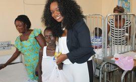 Jackie Appiah Celebrates Birthday At Korle Bu