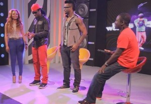 P-Square Pick Up Their 4syte TV Music Video Award