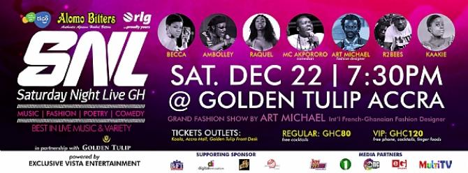 RLG TO GIVE AWAY LUXURY PHONES AT SATURDAY NIGHT LIVE GH