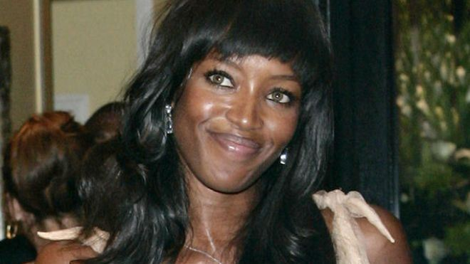 Model Naomi Campbell Injured During Robbery