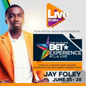 Live FM to broadcast 2015 BET Awards