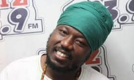 Blakk Rasta shares reggae CDs to MPs