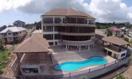 Asamoah Gyan names new $3 million house 'LA BASILICA DE BABY JET'