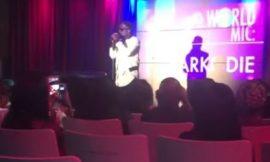 Sarkodie on the BET International Artist showcase stage🔥 #BETExperience
