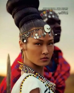 Beautiful Chinese Model Takes Gorgeous Pictures In Africa