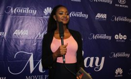 """The Press Launch Of Kafui Danku's New Movie """"Any Other Monday"""""""