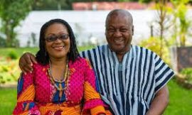 Prez Mahama And Wife Escape Death In Helicopter Emergency Landing