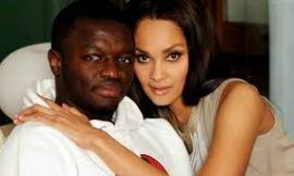 Photos: Name of Menaye and Muntari's Baby Boy Revealed