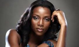 Genevieve Nnaji Receives Customized Laptop As Birthday Gift