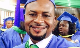 Kumawood actor graduates with a Master's Degree