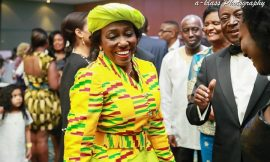 Nana Konadu dazzles in Kente at 2015 GUBA