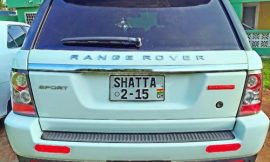 "Its all about the flex ""Shatta Range Rover"""