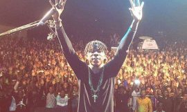 Stonebwoy Burniton at the Go Higher Concert