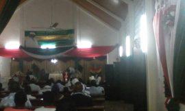 Honorable  Julius Debrah Visits  Upper Room Assembly