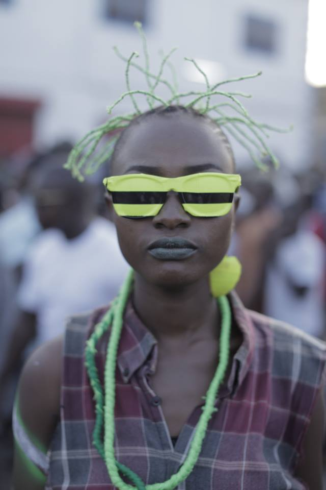 Pictures From Chalewote Art Festival In James Town Accra.