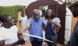 Photos: Kwame Sefa Kayi, KOD 'ambush' Doreen with surprise party