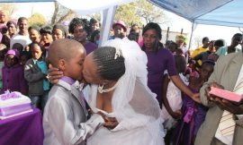 VIDEO: Nine year old boy marries 62-year-old woman