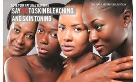Ghana to Ban Skin Bleaching/Lightening products from August 2016.