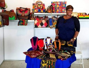 Ghanaian accessory brand, Selina Beb at 2015 Africa Fashion Week London