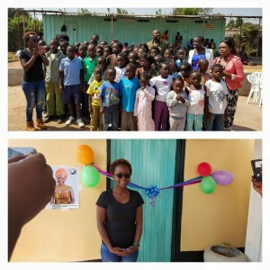 """Kansiime Visits 'Face Of A Child Foundation"""" Zambia"""