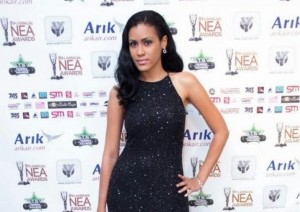 Juliet Ibrahim's sister beats Joselyn, Lydia to award