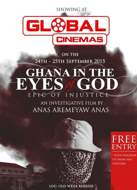 Global Cinema to show Anas video on Judicial corruption in Ghana