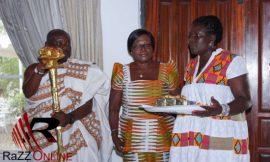 Photos: The 'knocking' ceremony of Gifty Anti
