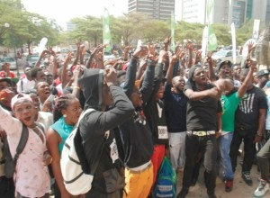 Talents throng Accra 'Dance With Peter' auditions