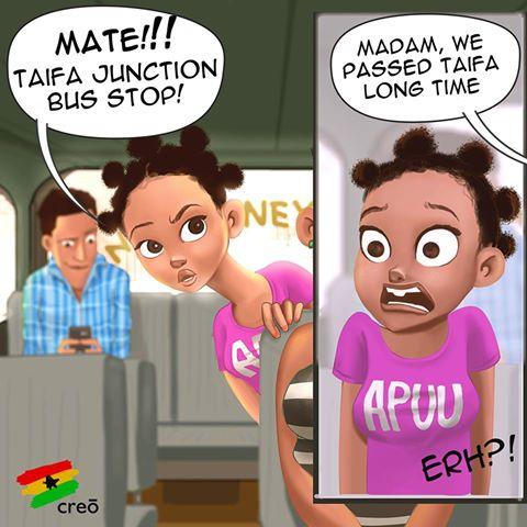 Ghana Tales in the Trosky Or TroTro