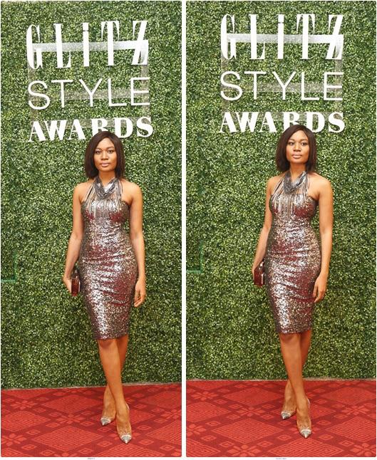 Sandra Ankobiah at the Glitz Style Awards
