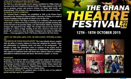 The Ghana Theatre Festival Starts Today With Poetry, Orchestra and Dance