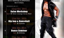 Flash Mob Ghana and Olando Amoo to Host Ghanaian  Dancers