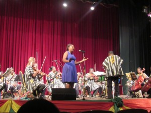 The Ghana National Theater Festival Rocks With Poetry,Orchestra And Dance