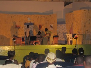 """Pictures """"The Mad Man Of Bolga"""" At The Art Centre"""