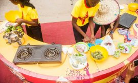 Pictures From Miss Ghana Delegates Cooking Competition