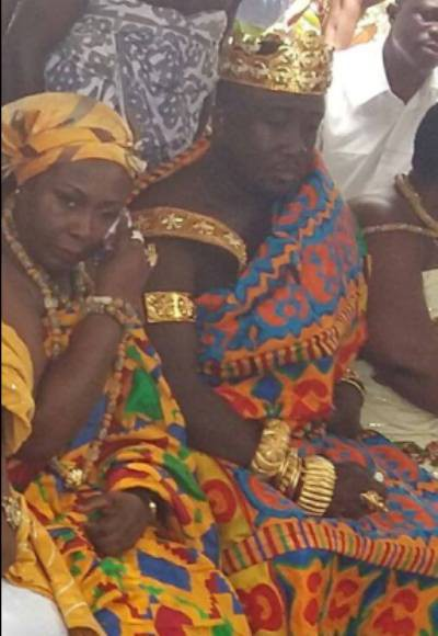 Photos: Gifty Anti and Nana Ansah Kwao's royal wedding