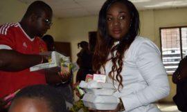 Photos: Emelia Brobbey donates to Osu children's home
