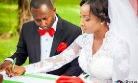 Naa Ashorkor celebrates one year of marriage