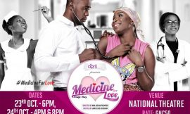 Accra gears up for 'Medicine for Love' comedy at National Theatre