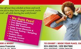 Maiden Women's Lifestyle Expo Ghana on Oct. 9 – 10
