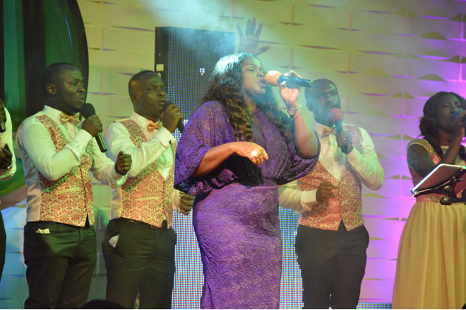 Eugene Zuta, Ohemaa Mercy, others give sterling performance at The Maker's House