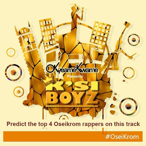 Okyeame Kwame's Oseikrom new song on the way