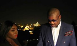 Peace Hyde Spotted With Don Jazzy In Rome